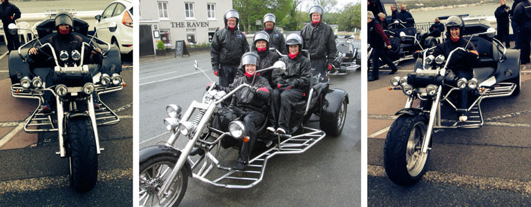 Trike Motorcycle Tour Isle of Man Novo Altum Corporate Day