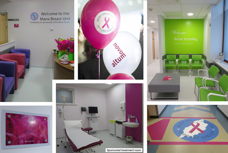 Nobles Hospital Breast Cancer Unit Novo Altum Treatment Room