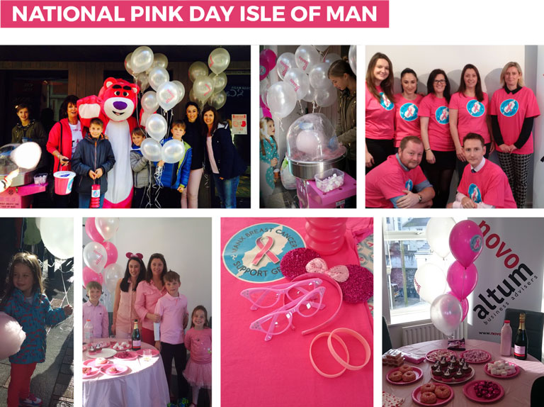Novo Altum Participates in Isle of Man National Pink Day for Breast Cancer